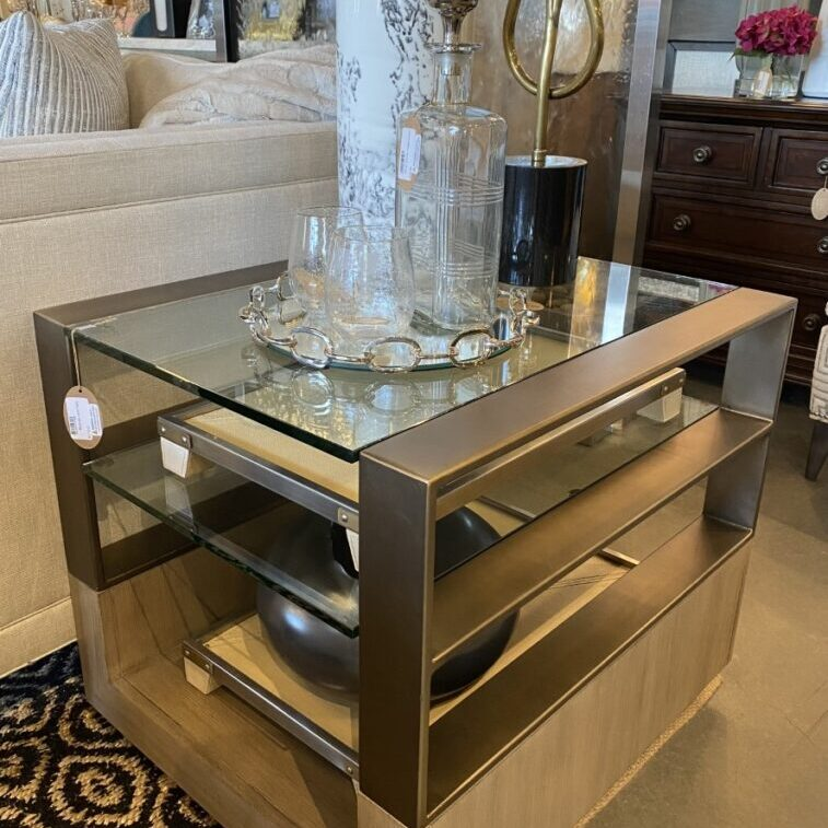 "Lexington <br> Retail: $1,460 <br> Our Price: $1,170 <br> Dimensions <br> 24""W x 24""H x 28""D"